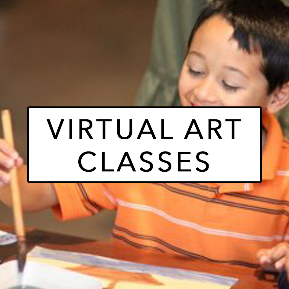 virtual art class sign up button
